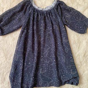 Oshkosh Kids Constellations Tunic Dress sz 4T